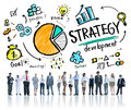 Strategy Development Goal Marketing Vision Planning Business Royalty Free Stock Photo