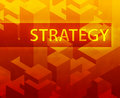 Strategy illustration Royalty Free Stock Images