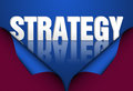 Strategy marketing words concept Royalty Free Stock Photo