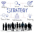 Strategy motivation objective planning vision concept Royalty Free Stock Image