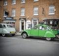 Stratford upon avon festival of motoring england may th classic vintage green citroen cv Stock Photo