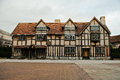 Stratford upon avon warwickshire england shakespeare s birthplace in Stock Images