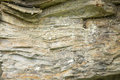 Stratified stone natural background Royalty Free Stock Photo