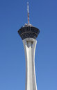 Stratosphere tower Royalty Free Stock Photo
