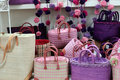 Straw bags Royalty Free Stock Photo