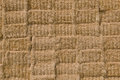 Straw bale texture wheat stack Royalty Free Stock Images