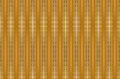 Straw beige abstract background with infinite vertical lines at the base narrow sharp Royalty Free Stock Photo