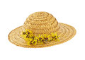 Straw Hat Stock Image