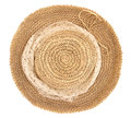 Straw hat with the scarf Royalty Free Stock Photo