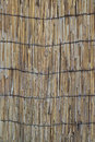 Straw jalousie brown old of natural dry background Royalty Free Stock Photos