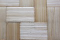 Straw mat on the closeup Royalty Free Stock Photography