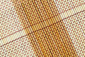 Straw mat texture Royalty Free Stock Images