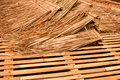 Straw Material Stock Photo