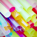 Straw old vintage retro style Stock Images