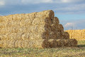 Straw Pyramid Royalty Free Stock Photo