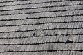 Straw roof as a background Royalty Free Stock Image