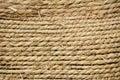 Straw rope texture Stock Photo