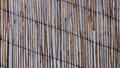 Straw shade background roof vertical stripes texture Royalty Free Stock Photography