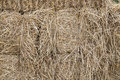 Straw stack fodder background texture Royalty Free Stock Photos