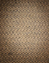 Straw weave pattern Royalty Free Stock Image