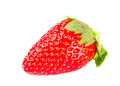 Strawberrie fresh fruits on the white background Royalty Free Stock Photo