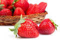 Strawberries Closeup Royalty Free Stock Photos