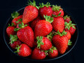 Strawberries food for love passion Royalty Free Stock Image