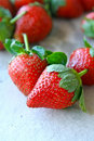 Strawberries fruit Royalty Free Stock Photos