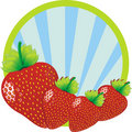 Strawberries illustration Royalty Free Stock Photos