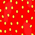 Strawberries seamless pattern backgroud this is file of eps format Stock Photo