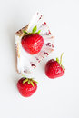 Strawberries in the shell Royalty Free Stock Photo