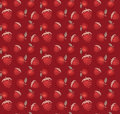 Strawberry and apple vector pattern background Royalty Free Stock Photo