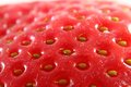 Strawberry background detail of as nice food Stock Photography
