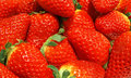 Strawberry background juicy tasty and sweet red Stock Photos