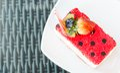 Strawberry Cake For Holidays