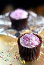 Strawberry Cupcakes 3 Royalty Free Stock Photo