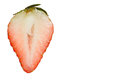 Strawberry cut in half Royalty Free Stock Photo