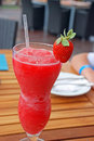 Strawberry Daiquiri Cocktail Royalty Free Stock Image