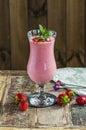 Strawberry daiquiri Royalty Free Stock Photo