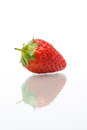 Strawberry download a comp save to lightbox on the white background Royalty Free Stock Images