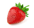 Strawberry fresh sweet on white Royalty Free Stock Image