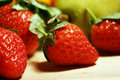 Strawberry fruits Royalty Free Stock Photos