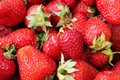 Strawberry healthy natural fresh food closeup Stock Photos