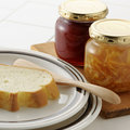 Strawberry jam and marmalade Royalty Free Stock Photos