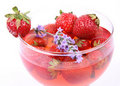 Strawberry Jelly Royalty Free Stock Images