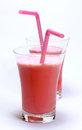 Strawberry juice Royalty Free Stock Photo