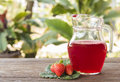 strawberry juice Royalty Free Stock Photo