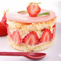Strawberry shortcake Stock Photography