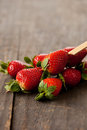 Strawberry snack Royalty Free Stock Images