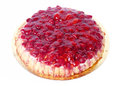 Strawberry tart cake Royalty Free Stock Image